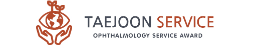 TAEJOON Service Ophthalmology Service award